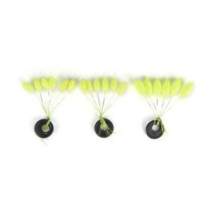 50x-einfarbige-7-Stern-ovale-Mini-Angel-Float-Raumbohne-F