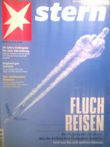 STERN Nr. 33 9.8.2018 FLUCH REISEN - Frohburg, Deutschland - STERN Nr. 33 9.8.2018 FLUCH REISEN - Frohburg, Deutschland