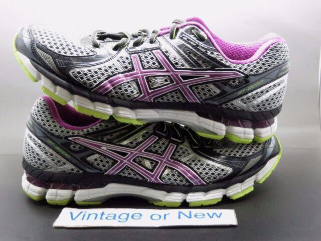 Women's Asics GT 2000 2 Grey Orchid Running Shoes T3P8N sz 10