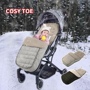 Universal Cosy Toes Footmuff Stroller Pram Buggy Pushchair Toddler Baby