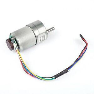New sainsmart 12v dc instabots motor 201rpm w encoder for for Dc motor with encoder arduino code