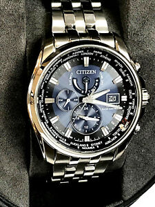 47d1878b818 Citizen Eco-Drive AT9031-52L Radio Controlled World Time Men s Watch ...