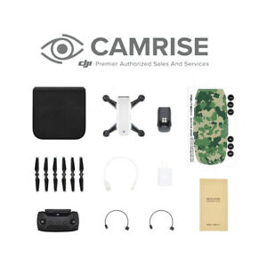 Details about DJI Spark Drone Quadcopter White Remote Controller Combo and  Free Skin