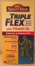 (New) Nature Made Tripleflex Triple Strength with Vitamin D3, 120-Count