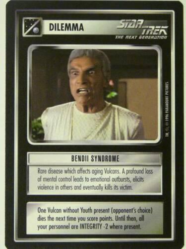 star trek CCG NG BENDII SYNDROME