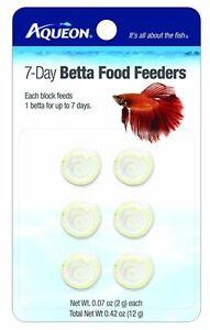 Aqueon Food Betta Feeder 7 Day 6pk (Free Shipping in USA)