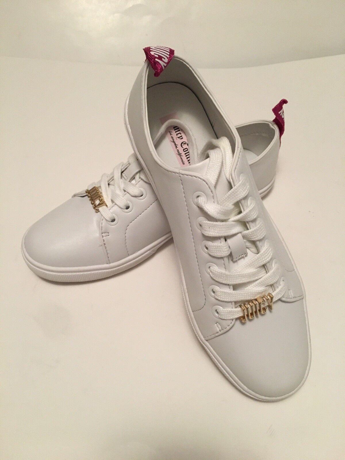 New Juicy Couture Los Angeles blanc Low baskets Sz 8M
