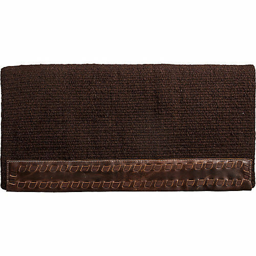 Mustang Casa Zia Chocolate Saddle Blanket