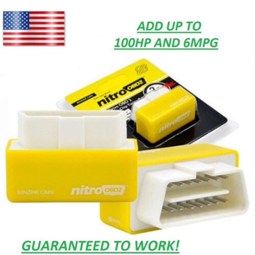for DODGE RAM TRUCK 1500//2500 1996-17 Tune OBD2 Performance Chip--Save Fuel//Gas