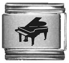 Clearly Charming Grand Piano Laser Italian Charm