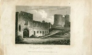 Dudley-Castle-Staffordshire-Drawn-And-Engraved-By-J-Storer