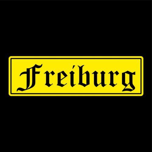 Freiburg Städte Auto Aufkleber Sticker 5cm x 17cm