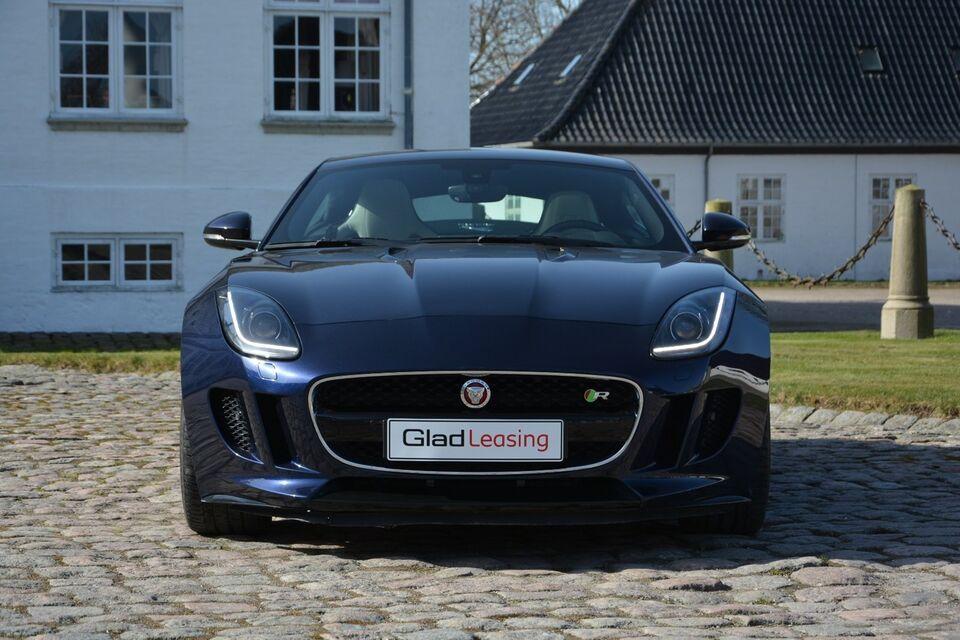 Jaguar F-Type 5,0 S/C R Coupé aut. Benzin aut. modelår 2014