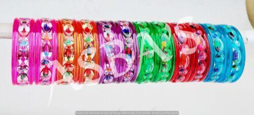 Indian Bollywood Bracelets ethniques 6pcs Multi incassable enfants bracelets Fashion Cadeau