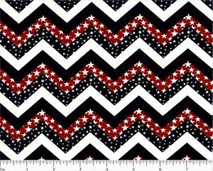 Patriotique-Chevron-Print-Red-White-Blue-Fat-Quarter-Choice-Fabrics-Stars