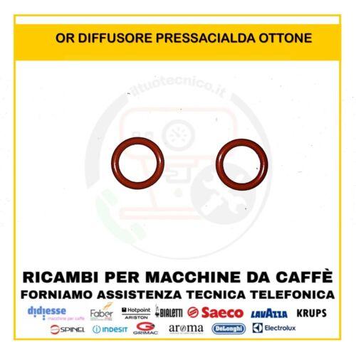 2 OR GUARNIZIONE PICCOLE DIFFUSORE PRESSACIALDA MACCHINA CAFFÈ FABER