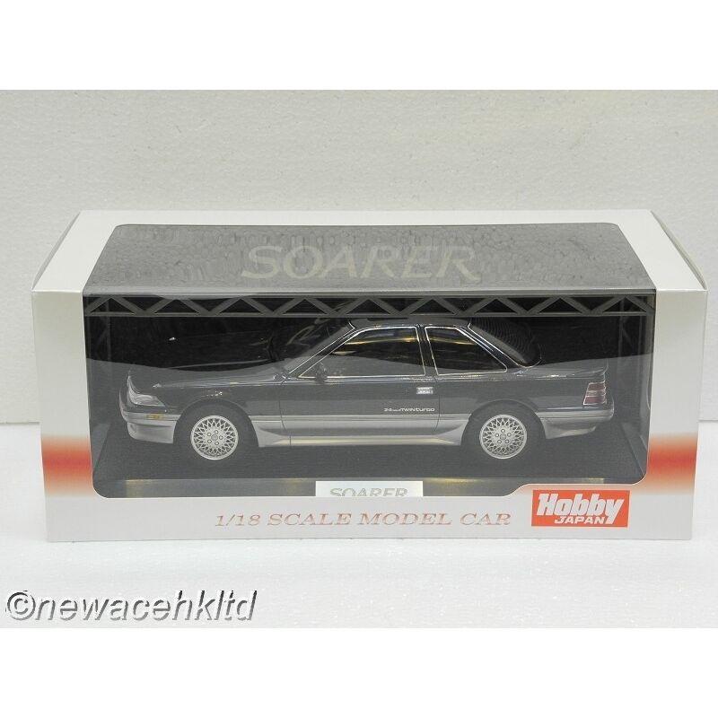 TOYOTA SOARER 2.0GT Twin Turbo L (GZ20) 1988 Dundee noir Hobby Japan 1 18
