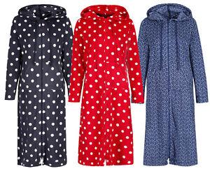475ac8eab8a4 Image is loading Marks-amp-Spencer-Womens-Zipped-Hooded-Fleece-Loungewear-