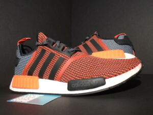 finest selection 984ad 4eb45 Details about ADIDAS NMD R1 LUSH RED CORE BLACK WHITE ORANGE INFRARED ULTRA  BOOST S79158 14