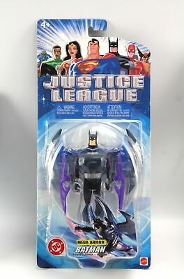 Free One Figure Justice League Action JLA Attack /& Batmobile 4.5-Inch Vehicle