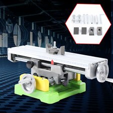 2axis Compound Milling Machine Worktable Cross Slide Bench Drill Vise Fixture