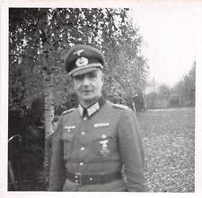Offizier mit Spange Orden EK - 1 Foto 2.WK