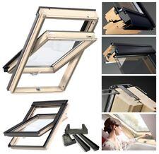Dachfenster Schwingfenster 55x78 78x55 mit Eindeckrahmen Dauerlüftung