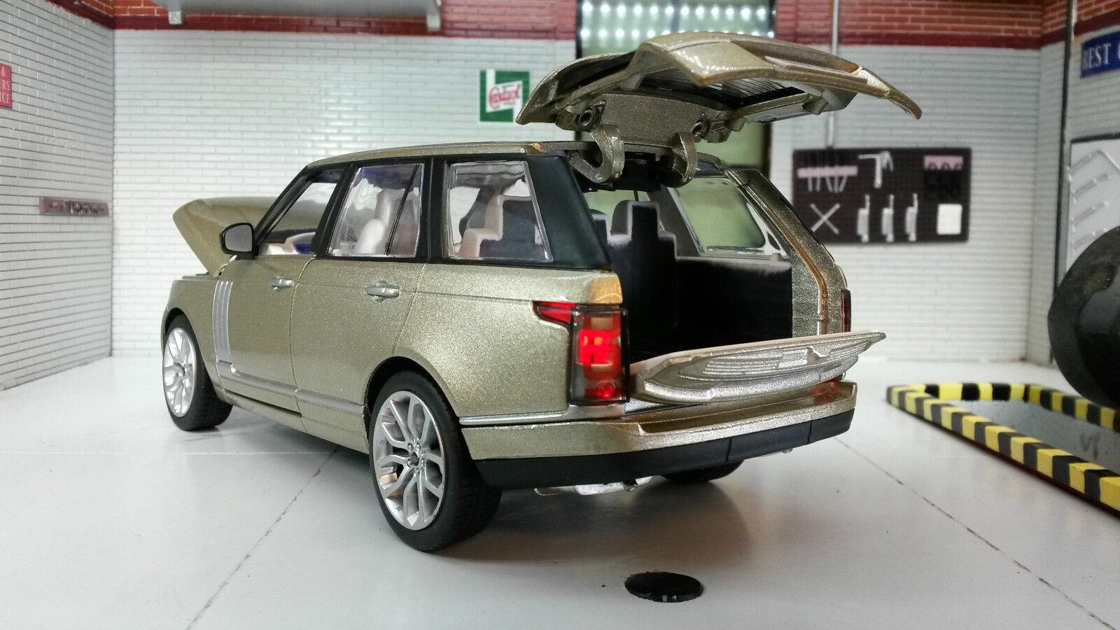 1 24 26 Range Rover Rover Rover L405 Td6 4.4 V8 HSE Champagner Gold MSZ Druckguss Modell b80652