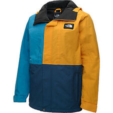 96a8f52dba8e2 item 2 NORTH FACE Mens TURN IT UP Blue & Yellow WATERPRROOF HOODED JACKET  NWT XL $170 -NORTH FACE Mens TURN IT UP Blue & Yellow WATERPRROOF HOODED  JACKET ...