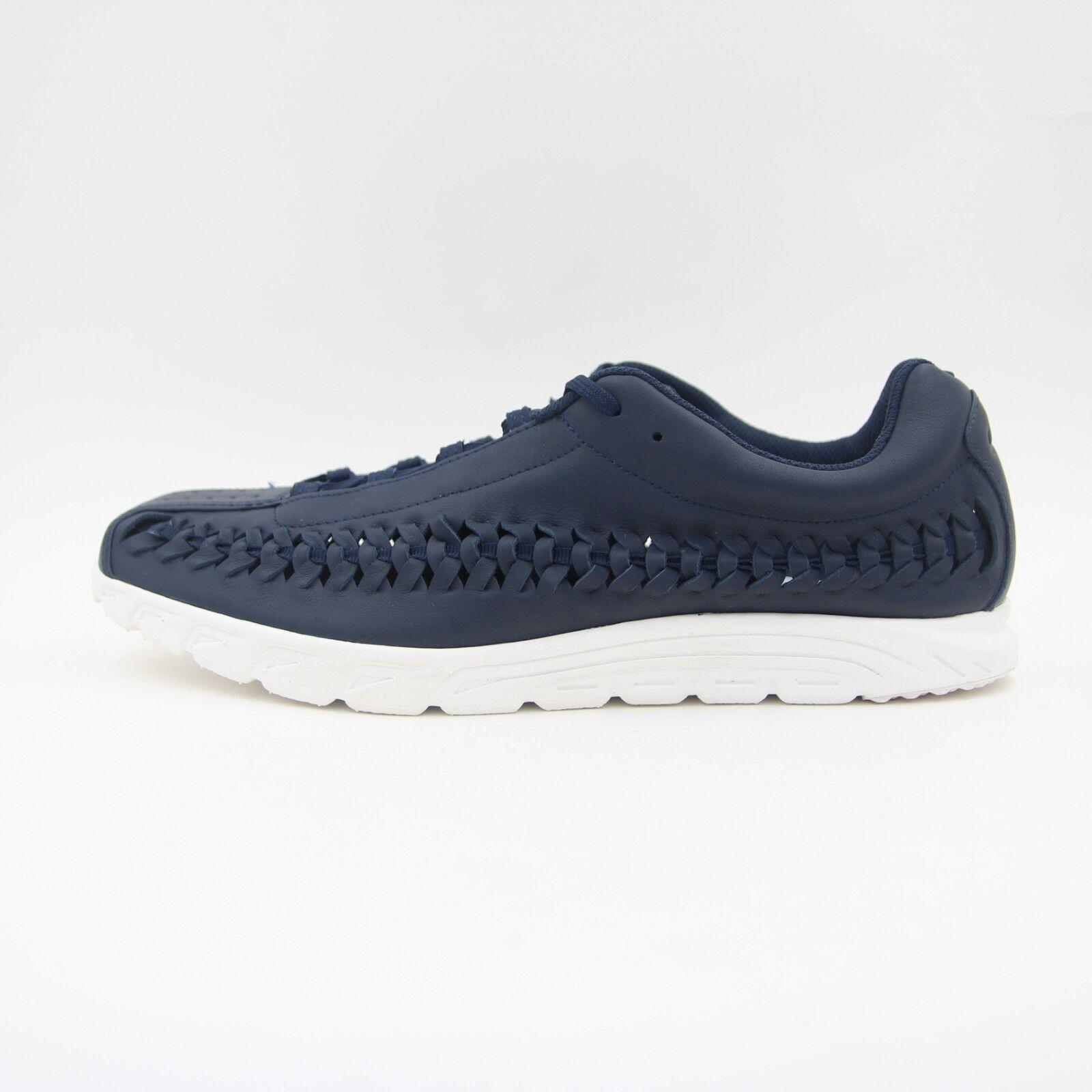 New  Uomo Nike Mayfly Blau Woven Leder Running Trainers Blau Mayfly UK 9.5 BNIB 833132 402 84144a