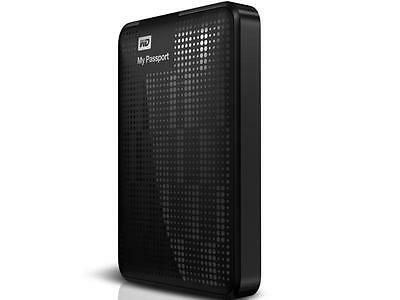 HARD DISK ESTERNO 1TB 2.5 WD MY PASSPORT USB3.0  2.0 HDD 1TB NERO REFURBISHED