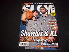 2012 MAY SLAM MAGAZINE - RICKY RUBIO & KEVIN LOVE COVER - O 1343