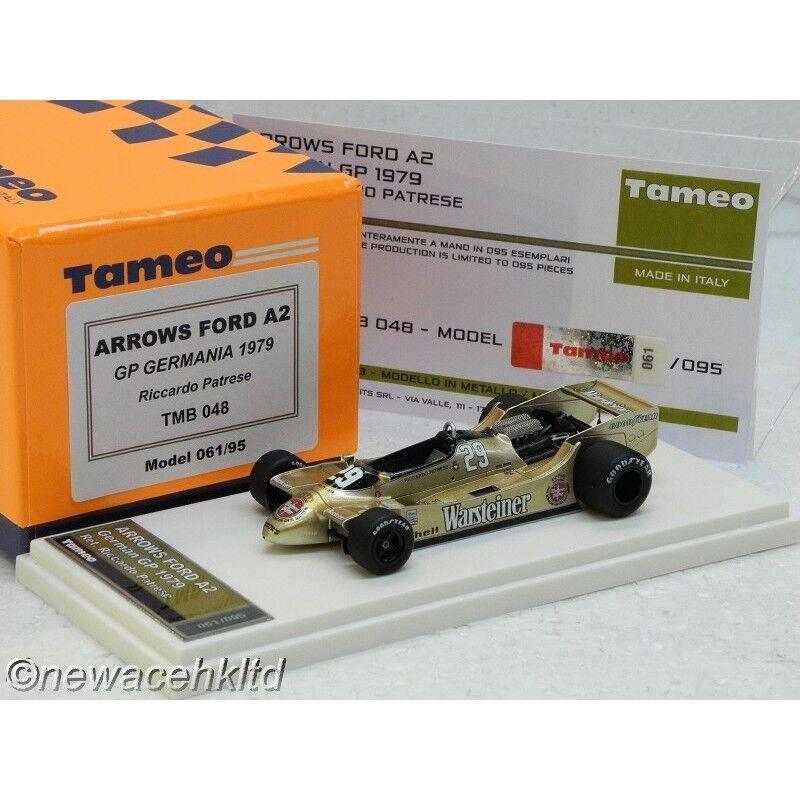 ARROWS FORD A2 GERMAN GP 1979 Riccardo Patrese TAMEO MODEL 1 43  TMB048