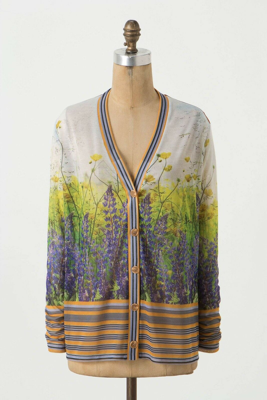 NWT Anthropologie Floretum Cardigan sweater by Dream Daily Size S Small