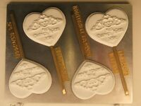 Heart Crown Mis Quince Anos Quiceanera Lollipop Chocolate Candy Mold Party (4)