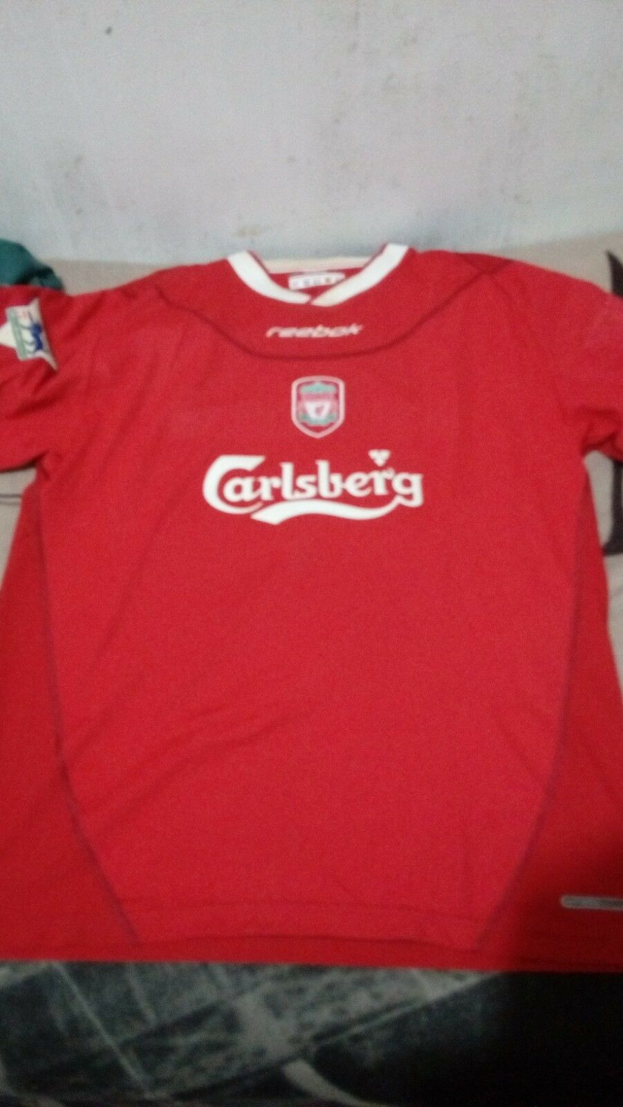 Maglia Liverpool  10 Owen XL chest 56 cm maillot shirt calcio trikot football