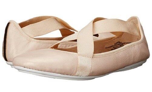 Easy Spirit Yandra Ballet Ballet Ballet Zapatos sin Taco Sin Luz rosado de Cuero Suave Gel Flex Talla 7 de Ancho Nuevo  últimos estilos