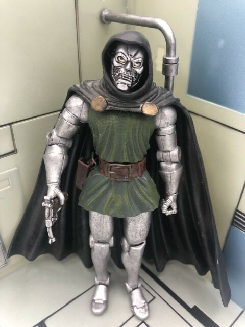 "Marvel Legends Series 2 Dr. Doom 6"" Loose Figure Toy Biz 2002 Mint Nice Rare 👍"