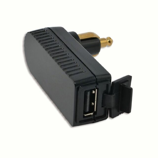 BAAS usb4 angle Chargeur-Adaptateur USB pour DIN et serienbordsteckdosen