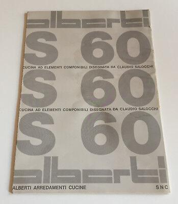 Alberti Arredamenti Cucina S60 di Claudio Salocchi pieghevole/poster | eBay