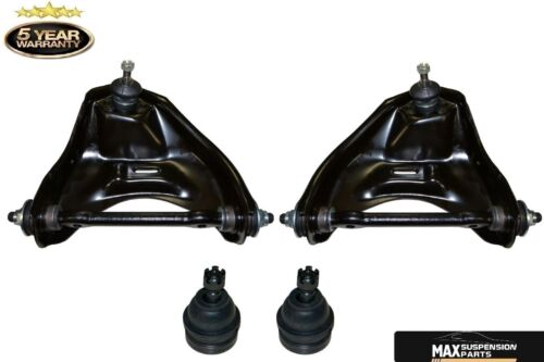 2WD Suspension Upper Control Arms and Lower Ball Joints Front Right Left Upper