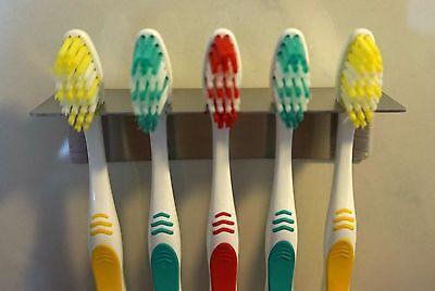 Aufsteckbürsten Oral B Badzubehör & -textilien Diszipliniert Zahnbürstenhalter Aus Edelstahl Für 5 Zahnbürsten O