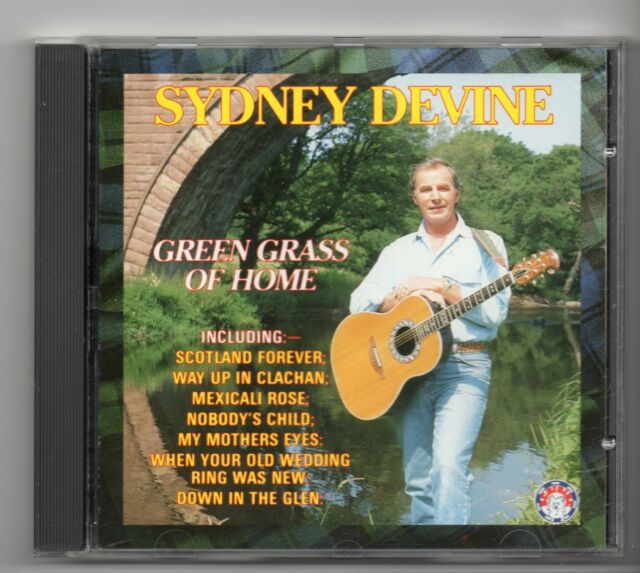 (JG15) Sydney Devine, Green Grass Of Home - 1990 CD