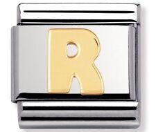 Nomination ciondolo lettera R rrp £ 18
