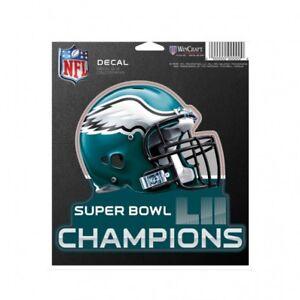 Philadelphia Eagles Super Bowl 52 Champions Die Cut Decal 5x5 Inches ... 2a2753292