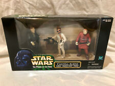 STAR WARS CANTINA ALIENS NABRUN LEIDS LABRIA TAKEEL WITH ACCESSORIES LOOSE