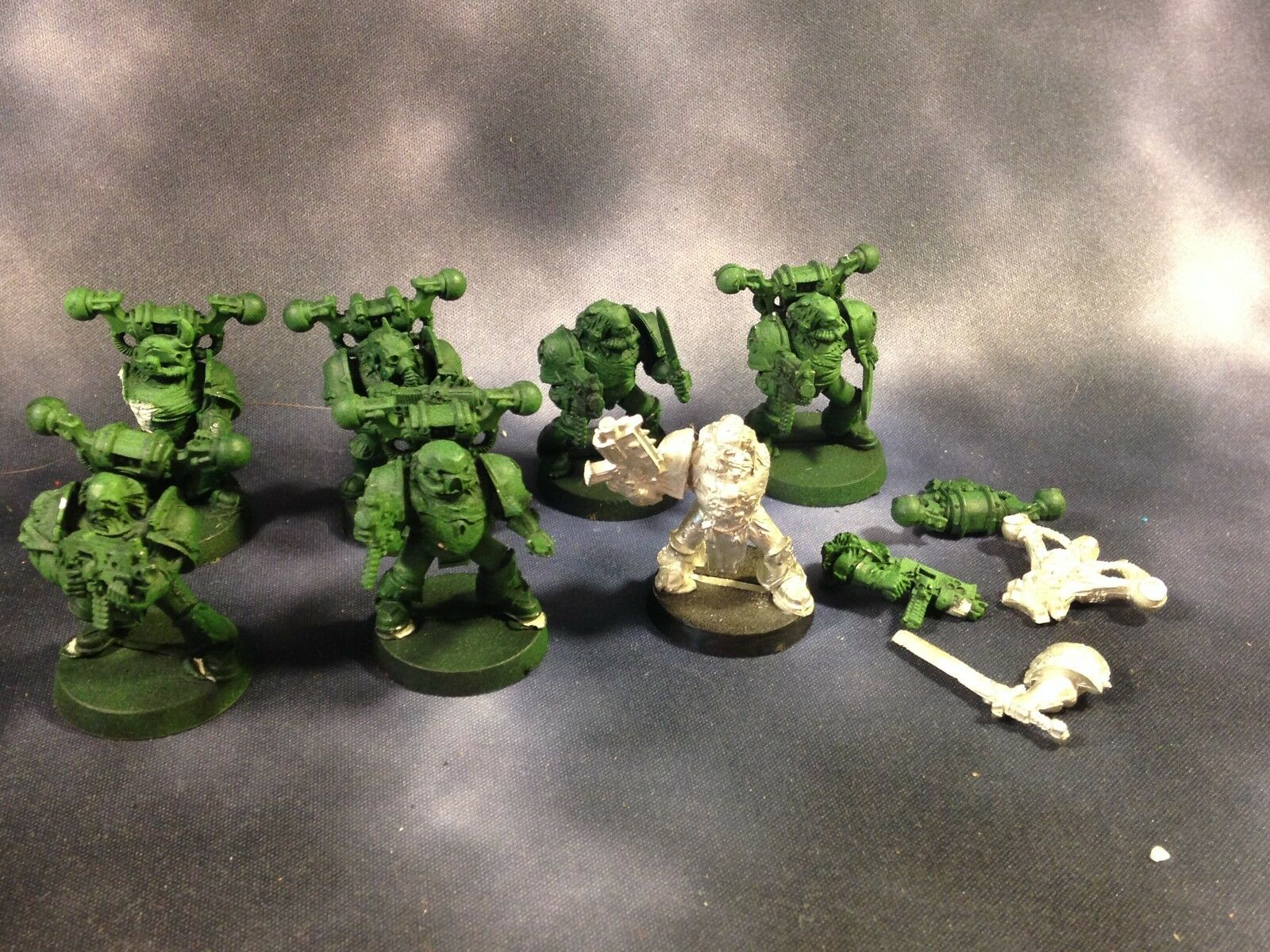 Warhammer 40k Chaos Space Marine Plague Marines Death Guard Metal OOP