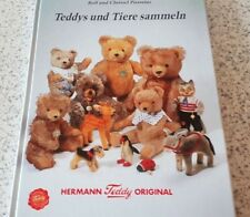 Tolles Buch - Teddys und Tiere sammeln - Hermann Teddy original  ANSCHAUEN