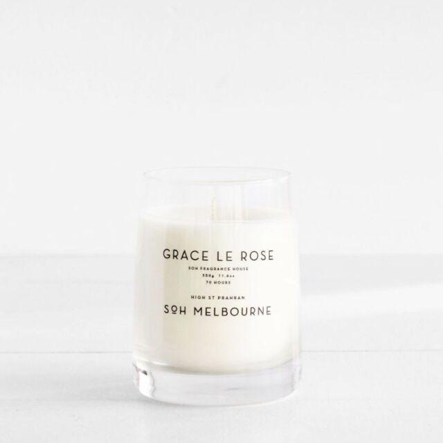 SOH Candle Grace Le Rose BERRIES, PINE + ROSE