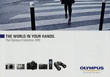Prospekt GB Olympus Collection 2010 Broschüre Kameras brochure cameras lenses